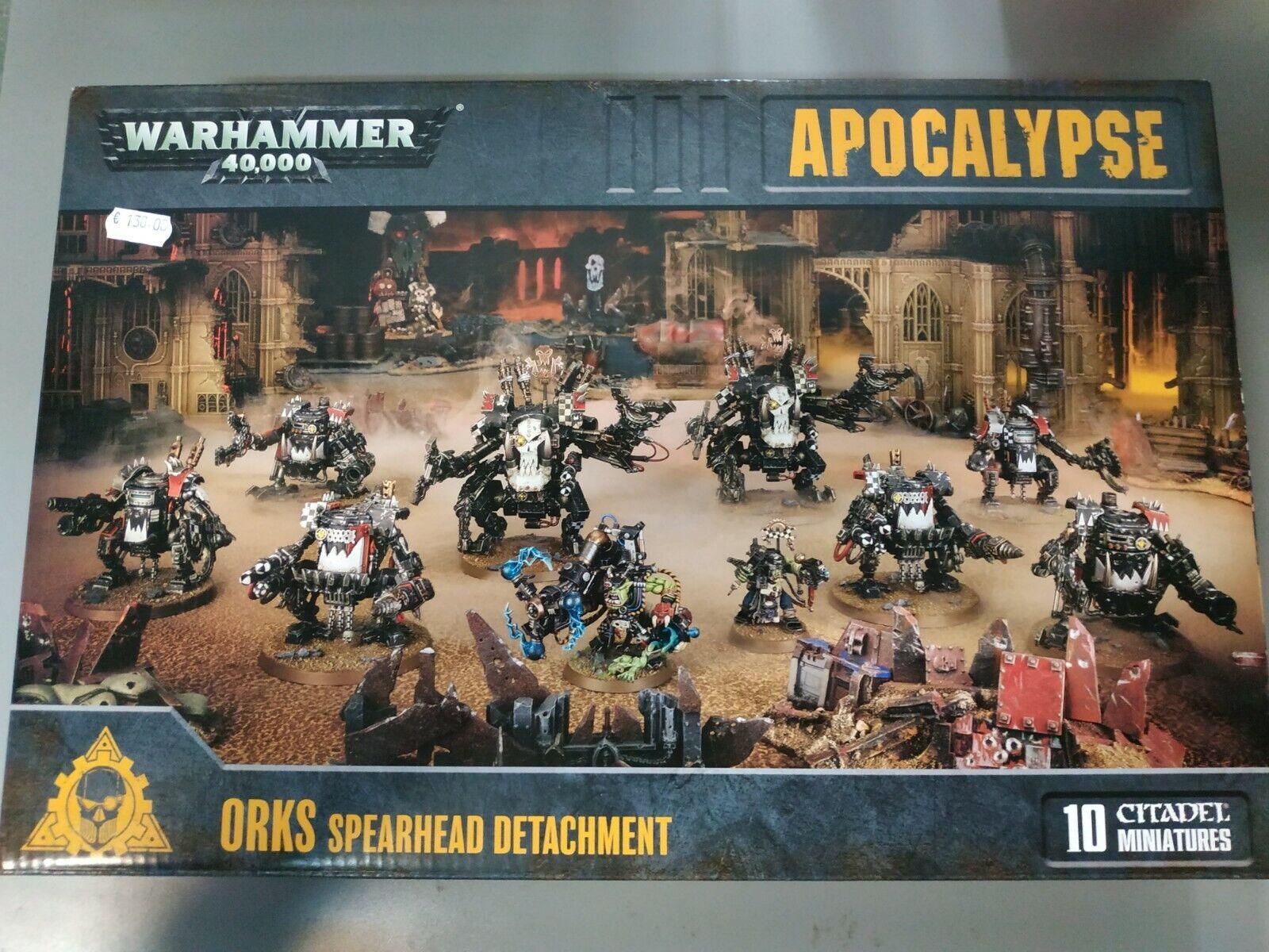 giocos lavoronegozio - Warhammer  40,000 - Distaccamento Punta di Lancia degli Orks  vendita online sconto prezzo basso