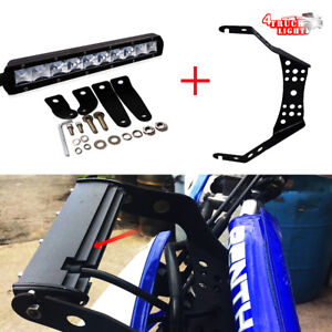 10 Quot Led Light Bar W Handlebar Mounting Bracket Kit For