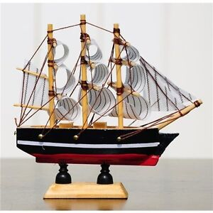 ds-Modello-Miniatura-Decorativa-Barca-Galeone-Dei-Pirati-Confection-11x11cm-moc