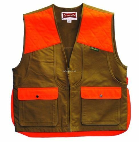 NEW Gamehide Upland Field Pheasant Vest (Marsh Brown orange) 3ST MO LG
