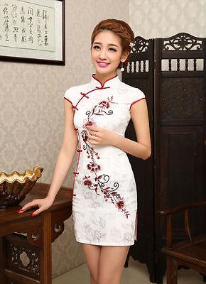 Chinese Variety Style QiPao Women Cheongsam Dresses Evening Mini dress