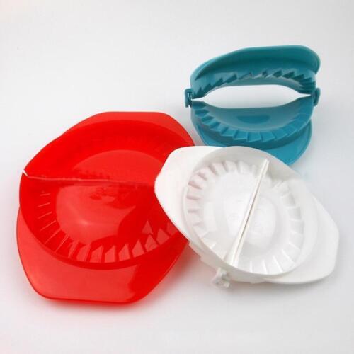 Aomily 3 PCS Set Dumpling Moulds Dough Press Ravioli Empanada Maker 3 Size Color