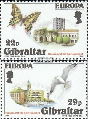Painstaking Gibraltar 503-504 (complete Issue) Unmounted Mint / Never Hinged 1986 Conservati 2019 Latest Style Online Sale 50%