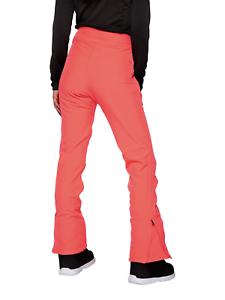 PROTEST Jethose enge Skihose Snowboardhose Softshell-Ski-Hose Lole orange rosa