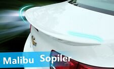 Paint Sport Style Spoiler Wing Colour Deflector For Chevrolet Malibu 2013 2014 +