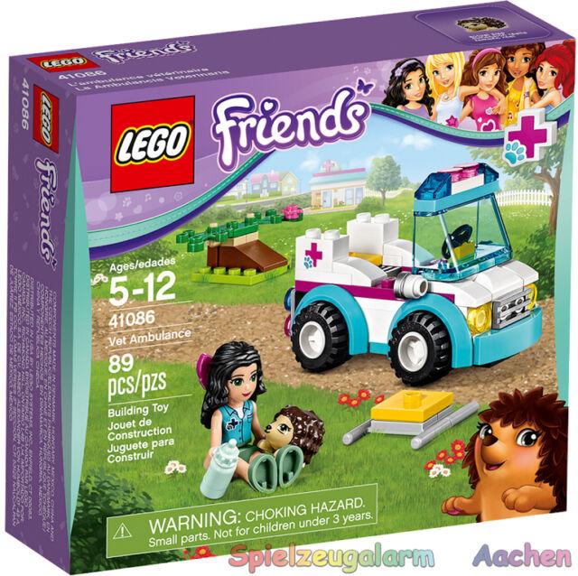LEGO 41086 Friends Mobile Tierpflege Emma und Igel Vet Ambulance La Ambulancia V