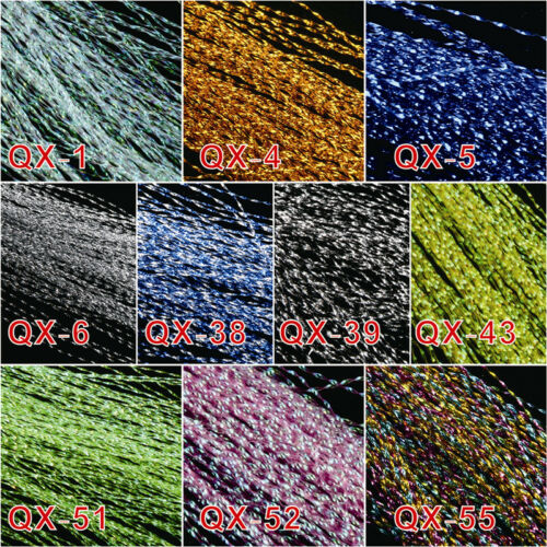 10 Colors 150pc Each Crystal Flash Fly Tying Material Krystal Lure Making