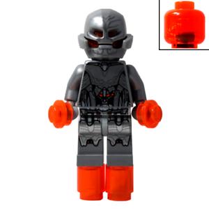 Genuine LEGO Minifigure Marvel Comics ULTIMATE ULTRON 76023 Avengers sh176 RARE!