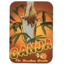 GANJA - The Sunshine Smoke - Drug Peace Spliff - Aufkleber Sticker - Neu #268