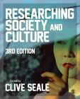 Researching Society and Culture von Clive Seale (2011, Taschenbuch)
