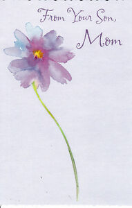 Greeting card mothers day from your son mom by tender image is loading greeting card mother 039 s day 034 from m4hsunfo