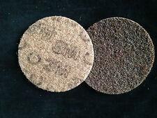 3M-65333-ScotchBrite Reinigungs-u. Schleifvlies Ø115mm,braun,grob A CRS-P100-120