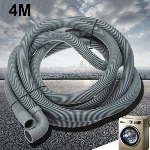 WHIRLPOOL Dishwasher Drain Hose Outlet Extra Long Waste Water Pipe 4m 19 /& 22mm