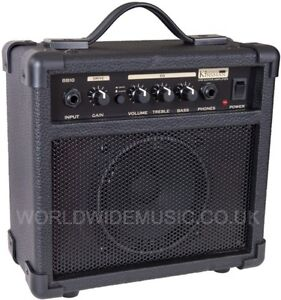 Kinsman-BB10-Blaster-Amp-10-Watt-Guitar-Practice-Amplifier-Combo-Brand-New