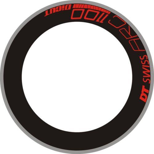DT SWSS 1100 Rim Decal Bike Wheels Sticker Decals 100//88//80//75//70//60//50mm Rims