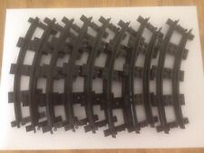 8 Piece LEGO Narrow Curved Train Track (4-stud gauge).