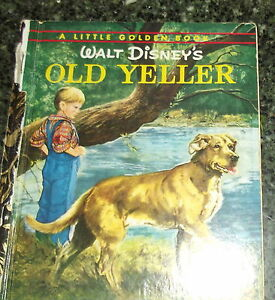 Little-Golden-Book-Walt-Disney-Old-Yeller-Hardback-GB-Sydney