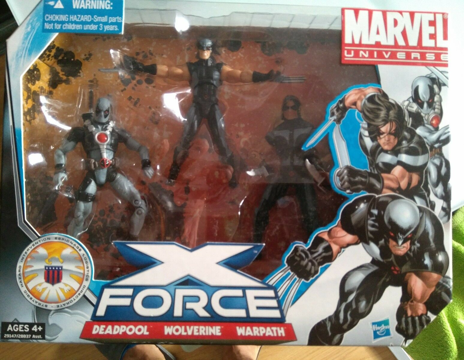 Marvel universe infinite series X force