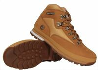 Timberland Men's Leather Boots Euro Hiker 91566 Wheat Authentic