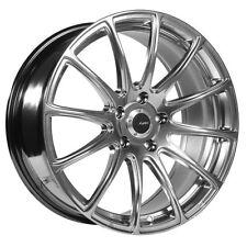 18x8 Advanti Racing Svelto 5x112 +45 Titanium Wheels Fits jetta MKV,MKVI Passat