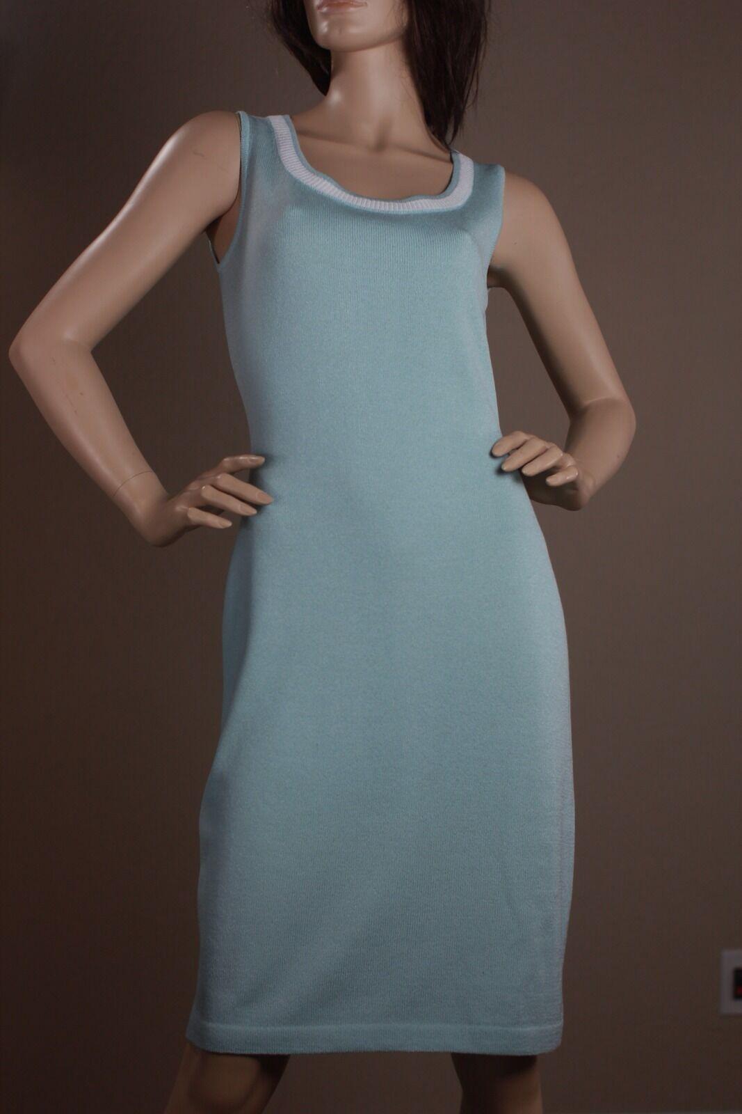 Nuevo Con  Etiquetas St John Collection Talla 4 Escote rojoondo Santana Knit Vestido De Pascua  995  barato y de alta calidad