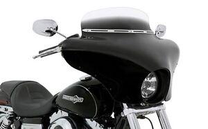 kawasaki vulcan 900 vn900 classic batwing fairing w/ black shield