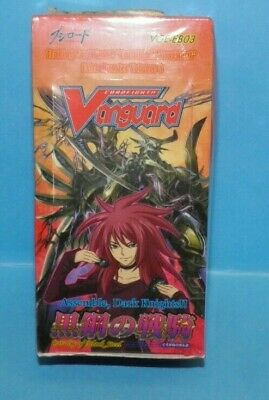 3 Sealed Pack 1x CFV Cavalry of Black Steel Extra Booster Vol