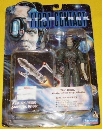 "Star Trek Playmates First Contact 6/"" personajes para elegir #2"