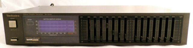 Technics Stereo Graphic Frequency Equalizer SH-8044