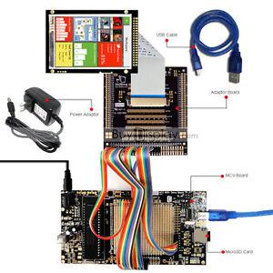 Detalles de 8051 Kit de Placa De Desarrollo Microcontrolador Programador  Usb Para Módulo LCD 3 5