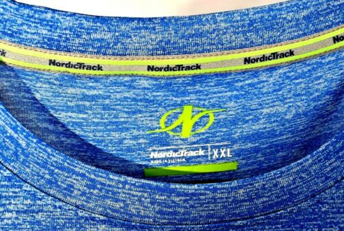 Details about  /NordicTrack Fitness graphic tee shirt XXL with NT DRI technology NEW