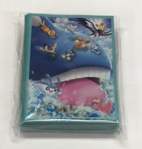 Gym Challenge Promo Japanese Pokemon Official Card Sleeves Wailord 64