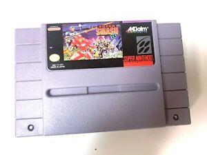 Super-Smash-T-V-Super-Nintendo-Snes-Cleaned-amp-Tested-Authentic