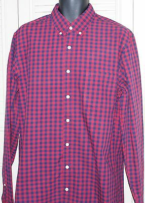 J. Crew  Woven Tailored Shirt Cotton L/S Size Large Tall NWOT