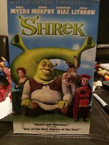 Dreamworks Shrek Special Edition Longbox Vhs Tape 667068367034 Ebay