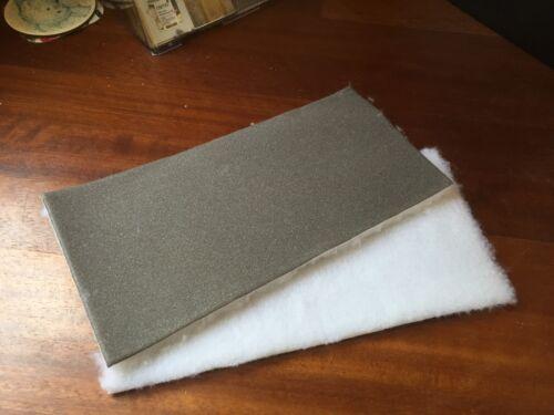 """x 10 12/"""" // 300mm Moor Floor Floor Seal // Varnish Applicator Pads Foam Back"""