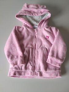 info for 33304 24976 Details zu Baby Mädchen Kapuzenpulli Gr.80 dicker warmer Pulli rosa  Reißverschluss Ergee