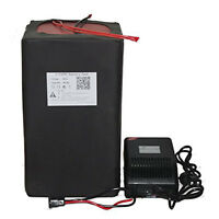 48v 50ah Lifepo4 Lithium Portable Battery Power Packs E-Bike Scooter +BMS