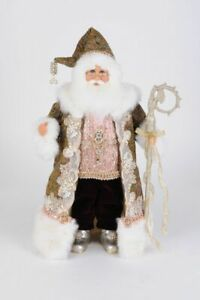 KAREN DIDION ORIGINAL THE JEWELED VICTORIAN SANTA CC18-47