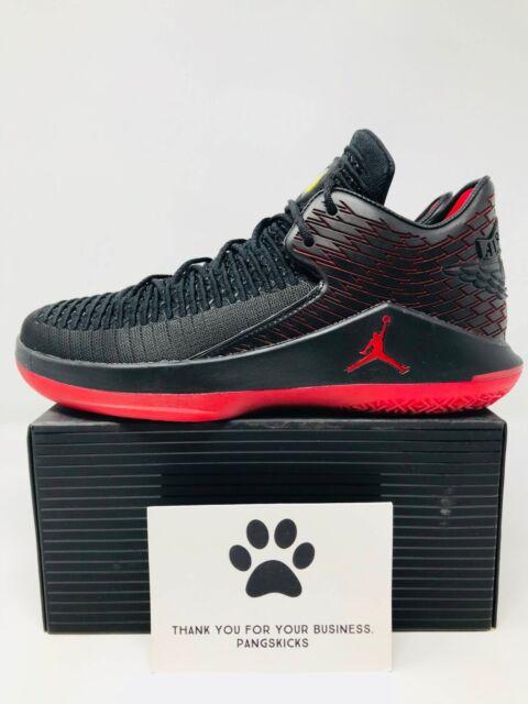 78a953a1c7c0 Nike Air Jordan XXXII 32 MVP Black University Red White Aa1253 002 ...