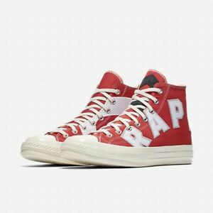 Details about NEW MENS CONVERSE CHUCK TAYLOR ALL STAR 70 HI TORONTO RAPTORS  SNEAKERS-ALL SIZES f620e549f