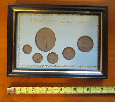 25 WHITMAN 5 Coin Mint Set Holders Cent Nickel Dime Quarter Half Dollar