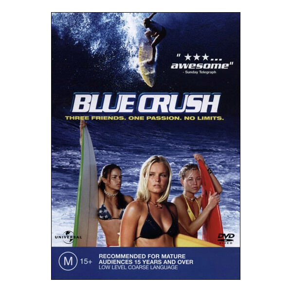 Blue Crush DVD Brand New Aus Region 4 - Kate Bosworth, Matthew Davis