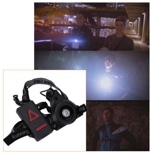 Abnehmbare Fixierband LED Brustlampe Joggen Nacht Lauflicht Running Chest Light