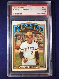 1972-Topps-Roberto-Clemente-309-PSA-9-Pittsburgh-Pirates-HOF