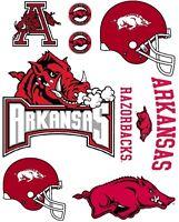 Arkansas Razorbacks Iron On T Shirt Pillowcase Fabric Transfer Set 1