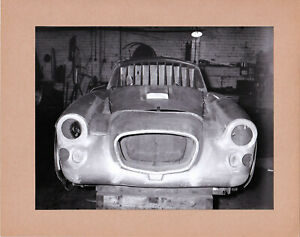 BRISTOL 406, BODY, PERIOD PHOTO PASTED ON CARD FROM THE BRISTOL ARCHIVE