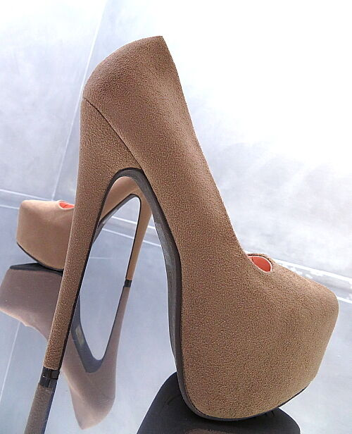 liquidazione NUOVO ALTA PLATEAU PUMPS ELEGANT ELEGANT ELEGANT Classic Donna Sky Sexy Tacco Alto Scarpe o88 35  ecco l'ultimo