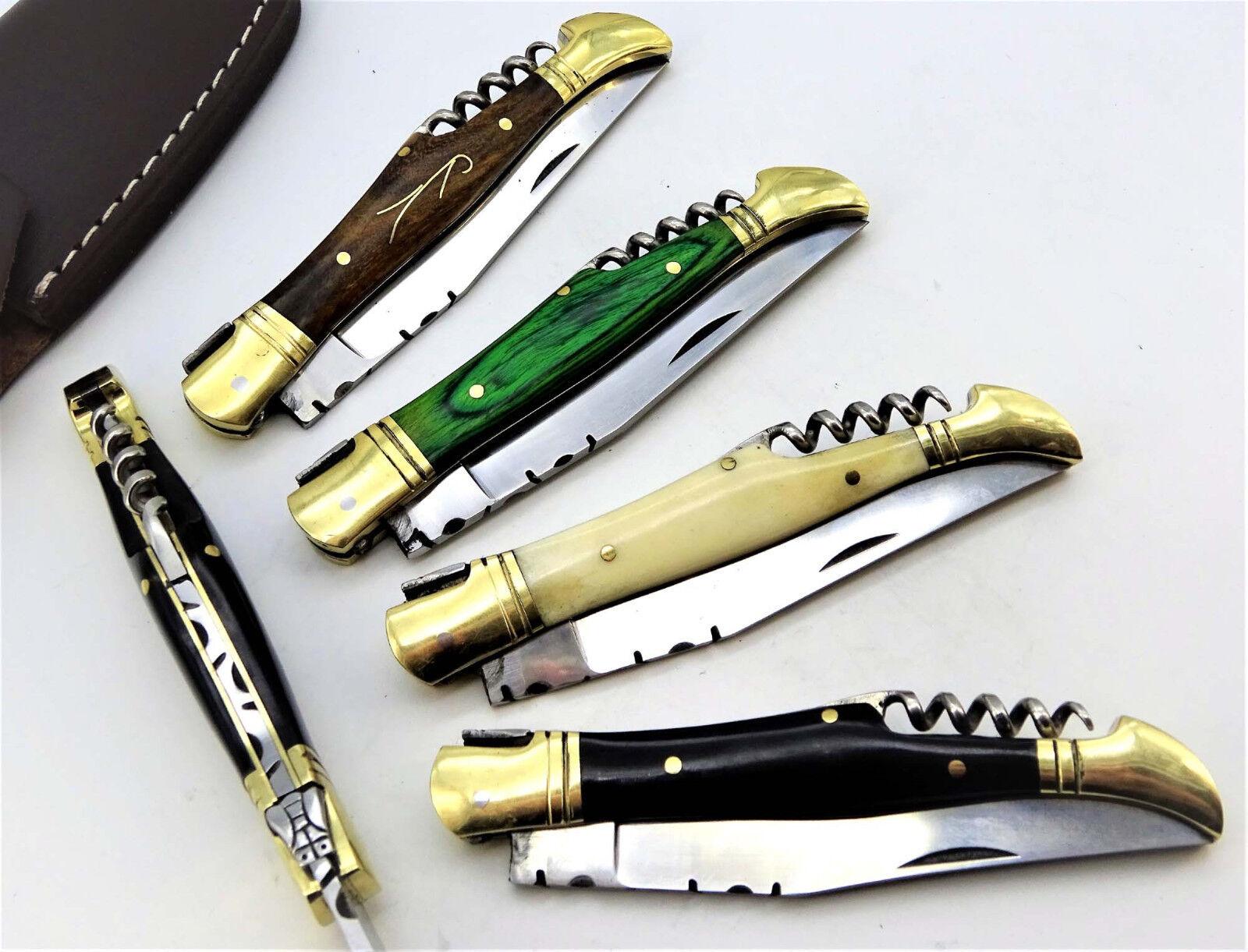 Couteau de Poche Poche Poche Laguiole Couteau de poche couteau pliant laguiolmesser couteau de chasse (rv3) c9e8ba