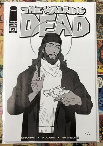 Walking Dead #92 B/&W Variant Blind Bag Anniversary TWD Day 2018